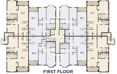 The Club at Melville - First Floor - Floor Plan