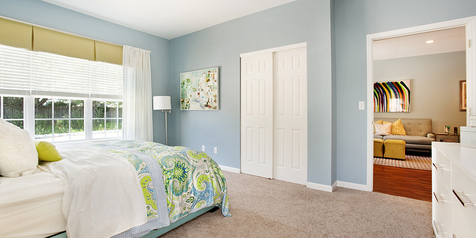 The Club at Melville - Long Island - Augusta Model Master Bedroom
